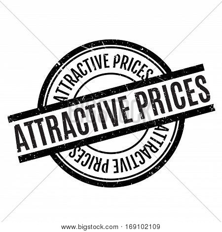 Attractive Prices rubber stamp. Grunge design with dust scratches. Effects can be easily removed for a clean, crisp look. Color is easily changed.