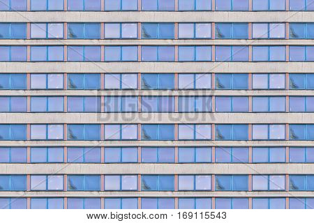 Architecture Pattern, Facade Of An Old Gdr Office Building