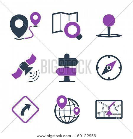 GPS & navigation icons