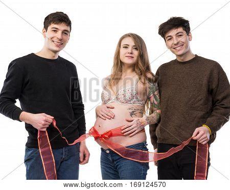 Modern Polygamous Family