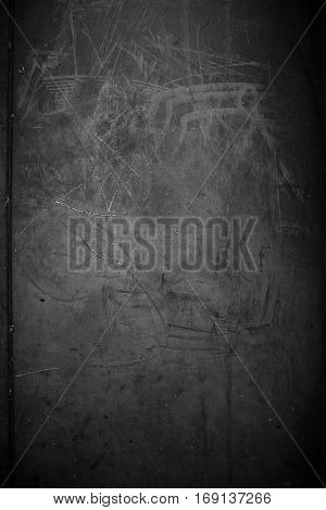Grunge background black texture / Old dark textured