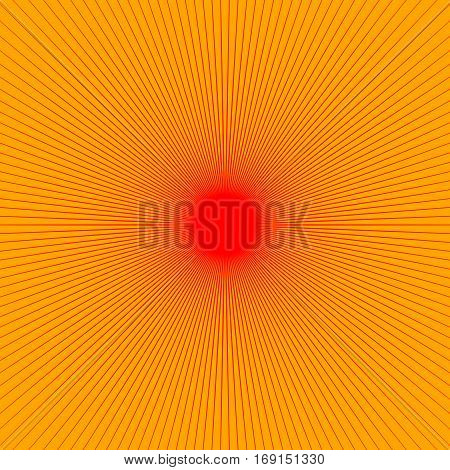 Radial Thin Lines Burst Element. Starburst, Sunburst, Flash Shape. Sparkle, Twinkle, Flash Pattern.