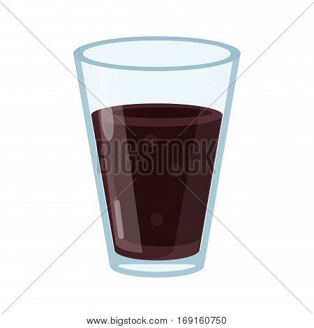 cup glass coffee caffeine drink vector illustration eps 10
