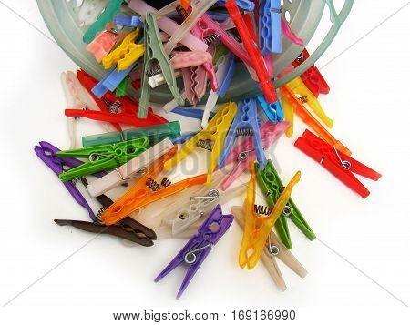 Newest and colorful pegs for washing clothes