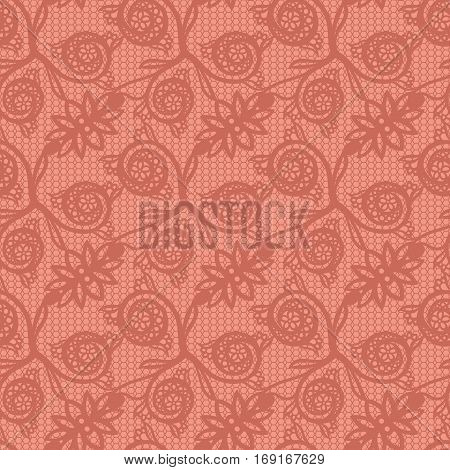Floral mehendi pattern ornament. Vector illustration mehendi pattern in asian textile style india tribal ornate. Ethnic pink ornamental lace vintage mehendi pattern mandala abstract textile