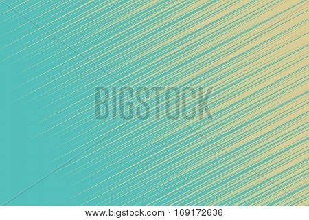 Turquoise hatch background. Vintage pop art retro vector illustration