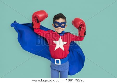 Superhero Kid Mighty Strength