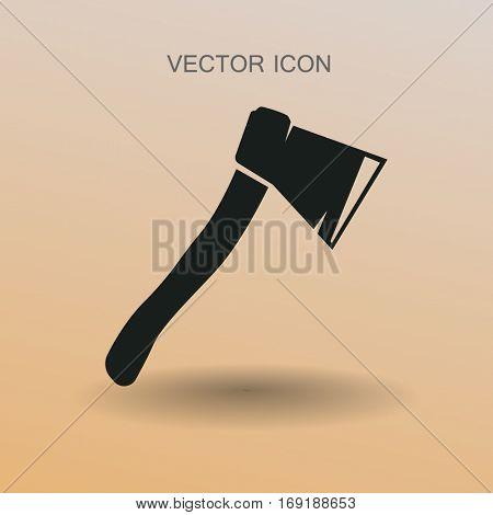 The ax vector illustration