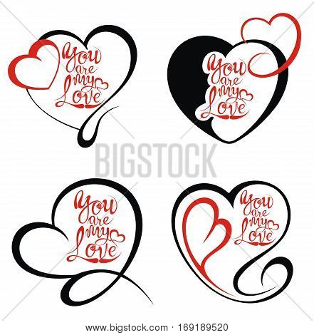 Hearts.  All you need is love. Love symbols