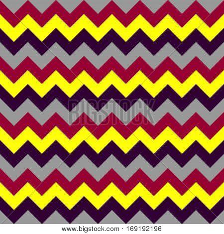 Chevron pattern seamless vector arrows  design colorful yellow grey black dark red