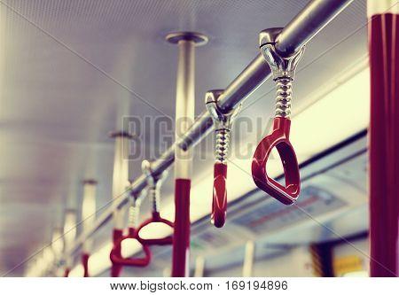 Hand Handle Commuting Public Transportation