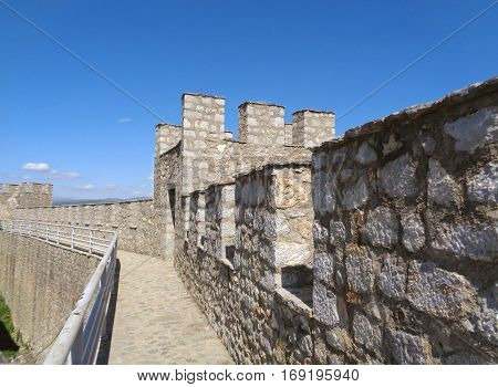 The fortress of Tsar Samuel, the old town of Ohrid, Republic of Macedonia