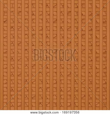 volume lite brown interwoven texture of wooden slats