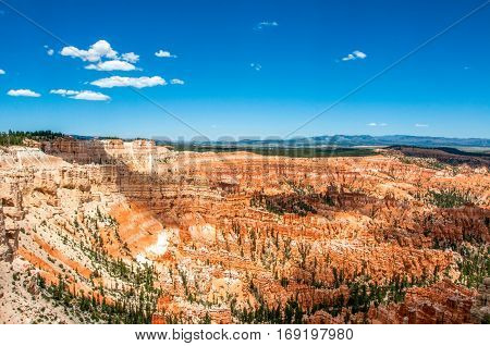 Bryce Amphitheater in Bryce Canyon National Park, Utah, United States