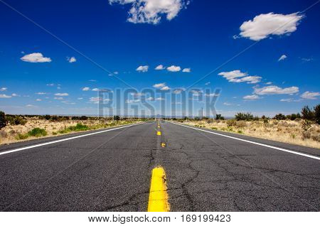 Route 66, the famous USA road, Arizona
