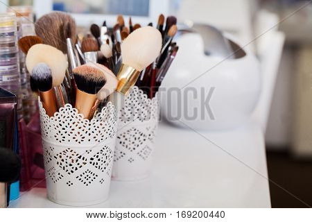 Cosmetics. Make up, Beauty and Freshness Concept