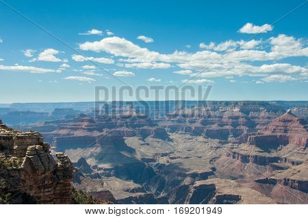 View of the Grand Canyon, Mother Point, Arizona