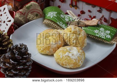 Cookie Made In A Traditional House