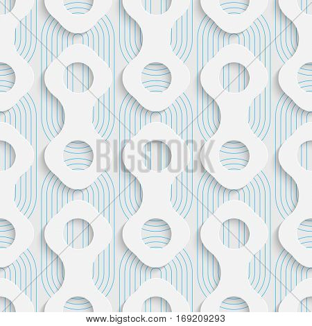 Seamless Web Pattern. Abstract Creative Background. Modern Swatch Wallpaper. 3d Sample Design. Wrapping Plexus Texture