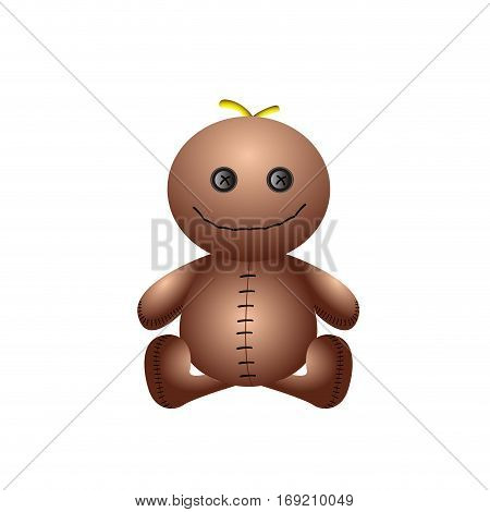 Isolated Doll Toy