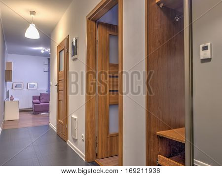 Hall With Viev For  Living Room