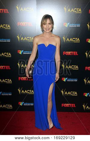 LOS ANGELES - JAN 6:  Radha Mitchell at the 6th AACTA International Awards at 229 Images on January 6, 2017 in Los Angeles, CA