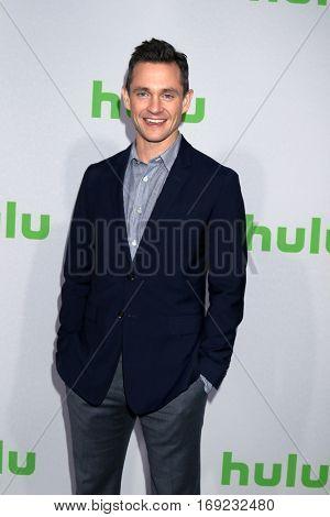 PASADENA - JAN 7:  Hugh Dancy at the HULU TCA Winter 2017 Photo Call at Langham Hotel on January 7, 2017 in Pasadena, CA