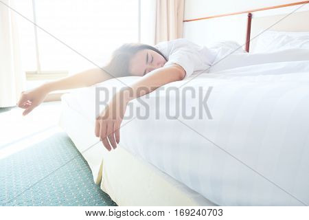 Lazy To Wake Up And Want To Relax On Bed.