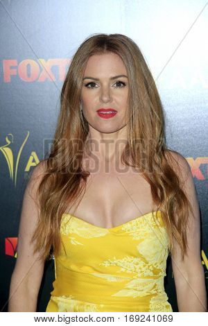 LOS ANGELES - JAN 6:  Isla Fisher at the 6th AACTA International Awards at 229 Images on January 6, 2017 in Los Angeles, CA