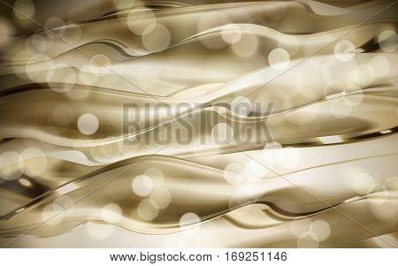 Abstract Golden Flow