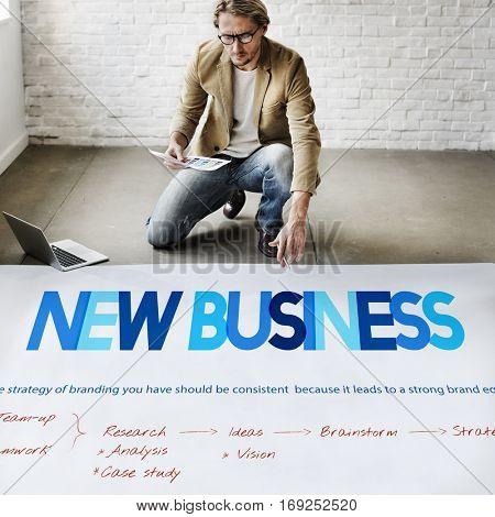 Business Startup Plan Target Concept