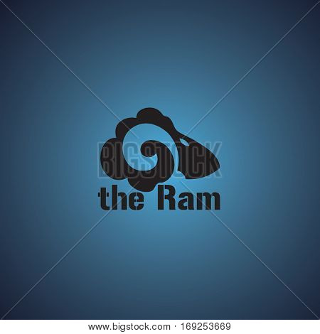 ram ideas design vector illustration on background