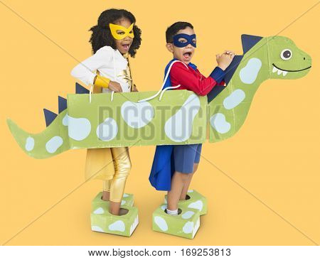 Little Kids Superherokids Dinosaur Costume