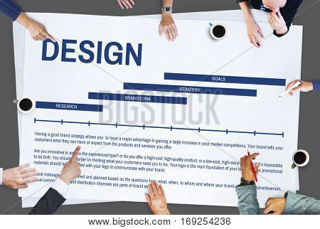 Identity Design Creation Advertising Concept
