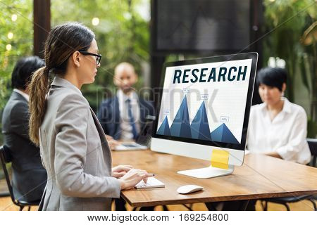 Data Development Performance Research Concept
