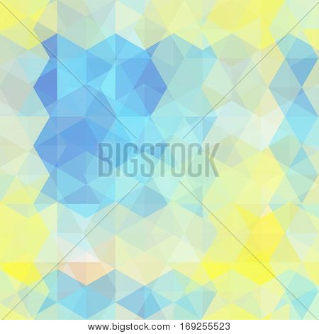 Background Of Geometric Shapes. Abstract Triangle Geometrical Background. Mosaic Pattern. Vector Eps