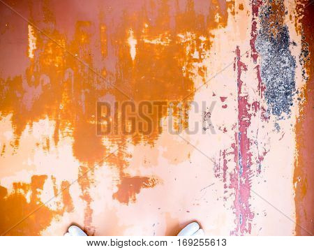 The Wooden background and texture and japanese tabi.