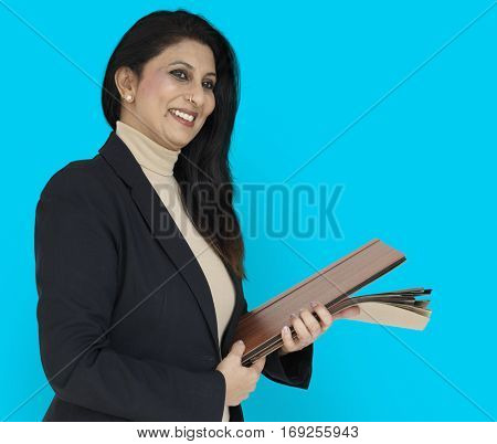 Indian Asian Woman Business Concept