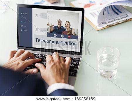 Networking Communication Conversation People Concept