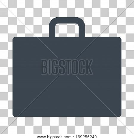 Case icon. Vector illustration style is flat iconic symbol smooth blue color transparent background. Designed for web and software interfaces.