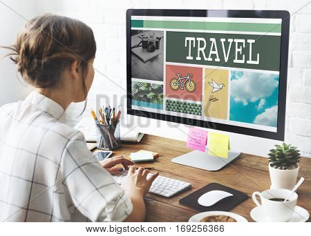 Holiday Vacation Travel Trip Concept