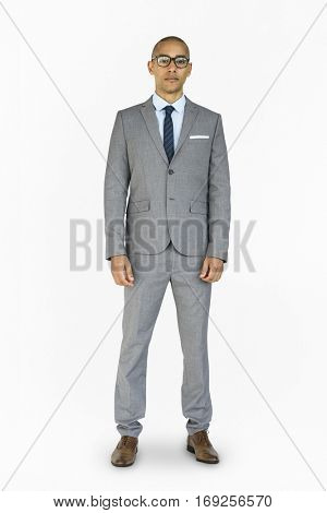 Businessman Standing Photography Portrait
