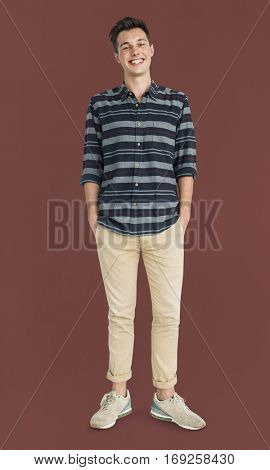 Man Smiling Happiness Casual Cool Portrait