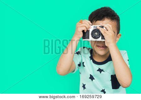 Little Boy Camera Studio Concept