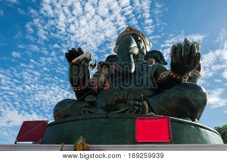 THE Ganesha statue and Hindu god Thailand