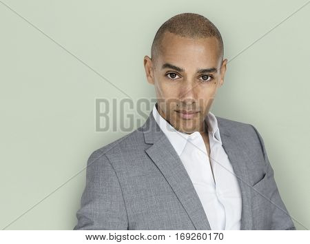 African Descent Business Man Concept