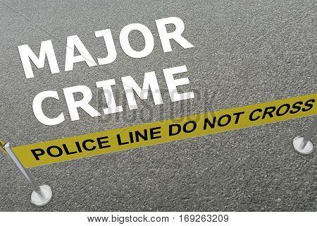 Major Crime Concept