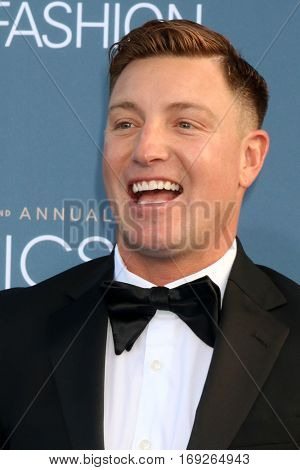 LOS ANGELES - DEC 11:  Lane Garrison at the 22nd Annual Critics' Choice Awards at Barker Hanger on December 11, 2016 in Santa Monica, CA