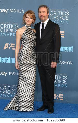 LOS ANGELES - DEC 11:  Tanya Lapointe, Denis Villeneuve at the 22nd Annual Critics' Choice Awards at Barker Hanger on December 11, 2016 in Santa Monica, CA