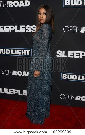 LOS ANGELES - JAN 5:  Gabrielle Union at the